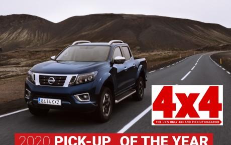 Το Nissan Navara  απέσπασε το βραβείο '2020 Pick-up of the Year', από το Βρετανικό 4X4 Magazine