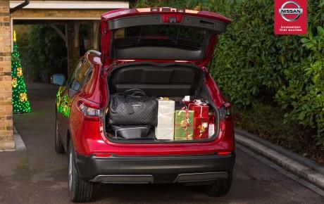 Το Nissan QASHQAI αποκαλύπτει το μυστικό για ένα απολαυστικό Χριστουγεννιάτικο ταξίδι